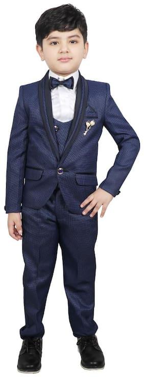 SG YUVRAJ Coat pants For Boys Blue