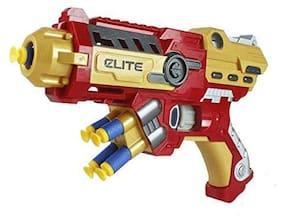 Shanaya  Avenger Infinity War Soft Bullet Launcher Blaster Gun for Boys (Ironman)