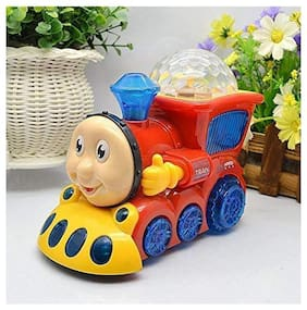Shanaya  Musical Toys for Kids with 3D Lights and Music (Musical Train)