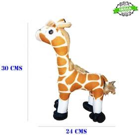 Shanaya Premium Quality Cute Stuffed Soft Plush Animal Toy for Kids;Babies;Girls;Boys Fully Machine Washable (Giraffe)