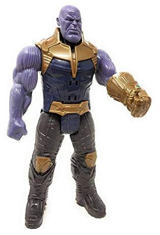 Shanaya  Toys Thanos Avengers Infinite War Super Hero Action Figure Toy with Sound Effect for Kids (29 cm)