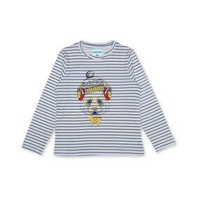 SharkTribe Boy Cotton Printed T-shirt - Multi