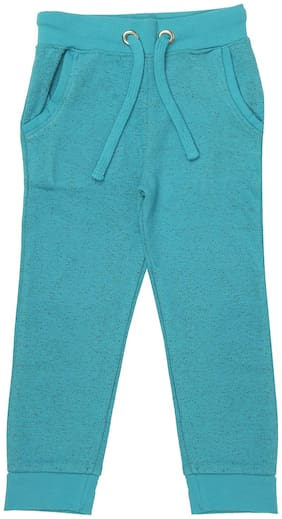 SharkTribe Girl Cotton Trousers - Blue