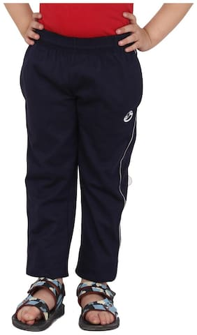 Shellocks Boy Cotton Track pants - Blue