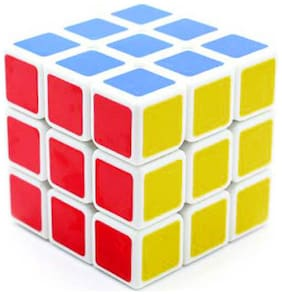 Shengshou 3X3 Speed Cube Puzzle White Base