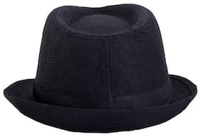 Shishu Boy Cotton Cap - Black
