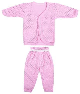 Shishu Baby girl Top & bottom set - Pink