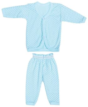 Shishu Baby girl Top & bottom set - Blue