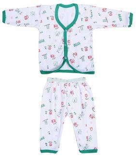 Shishu Unisex Top & bottom set - Green
