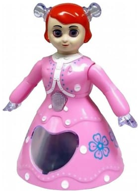 Shivalik 3D Flashing Music Sound Rotating Dancing Doll