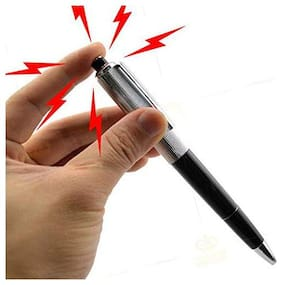 Shocking Ball Point Pen Electric Shock Toy Gift Joke Prank Trick Fun