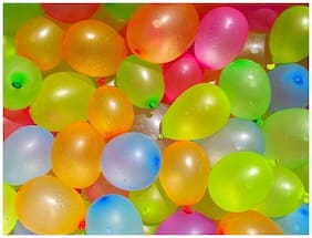 Shop-Online Holi Water Shooting Balloons - Multicolor (Pack of 500)