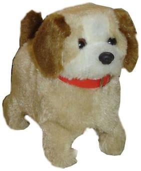 Shop & Shopee Beige Jumping Puppy