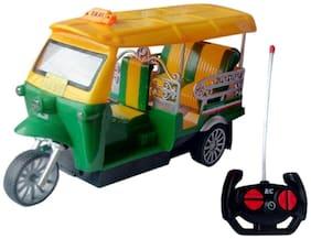 Shop & Shoppee Wireless Remote Controlled Auto Rickshaw (Multicolor)