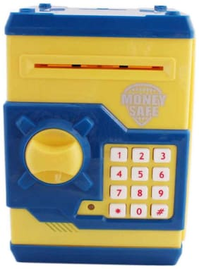 Shop & Shoppee Money Safe Password Piggy Savings Bank