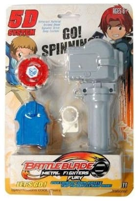 Shop & Shoppee 4D Systems Handle Launcher Beyblade with Metal Fury Spinning Tops  (Multicolor)