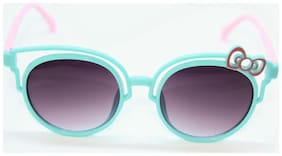 Shopiwik UV Protected Kids Double Layer Tie Design Sunglasses many colors(for girls)