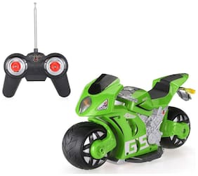 ShopMeFast 2.4GHz 1/8 High Simulated 180° Drifting RC Motorcycle Car Toy For Kids
