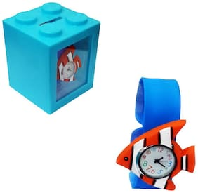 Shopmefast Coin Bank with Watch For Kids