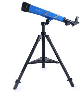 ShopMeFast Kids Learning Telescope With Tripod For Astro Observation With 20X, 30X And 40X Zooming Capability, Focal Length Of 170Mm With   Rotatable Angle