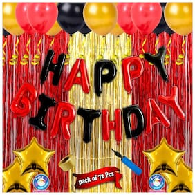 Shopperskart  Presents Happy Birthday Combo/kit/pack for Party Decoration Items