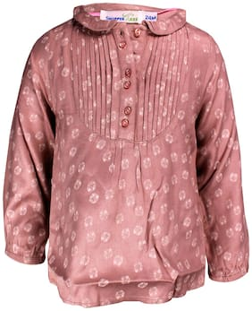 Shopper Tree Unisex Top & bottom set - Pink