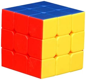 Shree Ji Magic Cube 3x3x3 Speed Rubik Stickerless