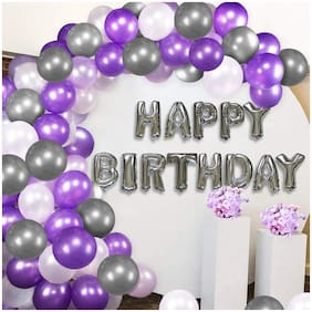 SHREE & SHREEMAN Birthday Balloons Combo for Kids Or Birthday Decoration Items