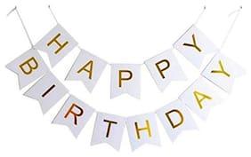 SHREE & SHREEMAN Happy Birthday Banner for Kids and Adults
