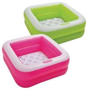 SHREEJI GIFT Intex Inflatable Baby Bath Tub 3FT (Color May Vary Green or Pink)