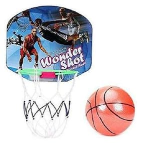 SHRIBOSSJI Basket Ball Along with Ball for Kids To Learn the Basket Ball Game- GOOD QUALITY .