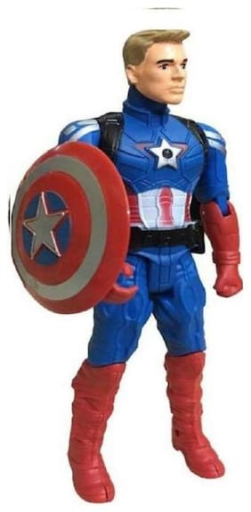 SHRIBOSSJI Captain America Action Figure Avengers -Age Of Ultron-BIG .