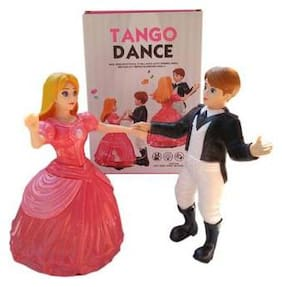 Shribossji Dancing Princess Doll Tango Dance With Light And Music For Kids / Children (Multicolor)