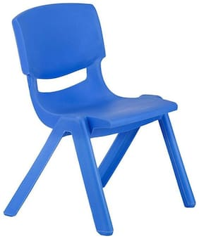 Shribossji Plastic Chair For Kids (Blue Color)