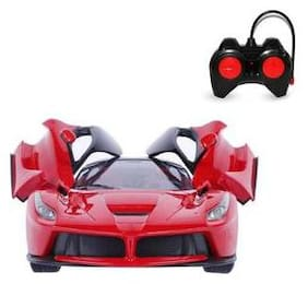 Shribossji Remote Control Super Car Toy With Opening Doors For Kids / Children (Multicolor)