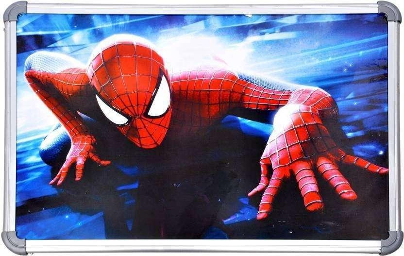SHRIBOSSJI Spiderman Multi-purpose Portable wooden bed table/ study table / laptop table/...