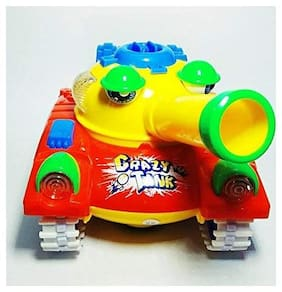 Shrines  Crazy Tank Toy with Bump and Go Action for Kids