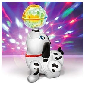 Shrines Musical and Lighting Dancing Dog for Kids