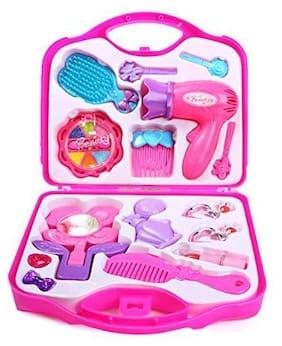 Shrines Pretend Makeup Kit Cosmetic Pretend Play Set for Kids