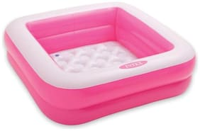 Shrines  Square Kids Bath Tub, 3ft (Pink)