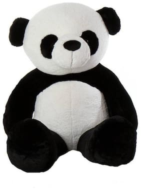 Shruti Black & White Teddy Bear - 80 cm