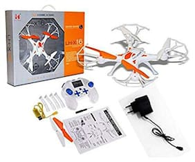 Shruti LH-X16 Drone Quadcopter 4-ch 2.4ghz Remote Control With 6-axis Gyro With No Camera||D-01 (Orange)