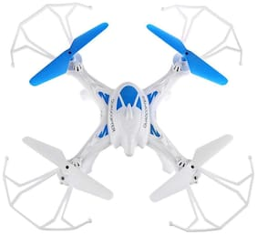 Shruti LH-X16 Drone Quadcopter 4-ch 2.4ghz Remote Control With 6-axis Gyro With No Camera||D-01 (Blue)