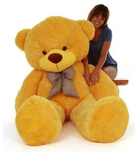 Shruti Yellow Teddy Bear - 90 cm , 1 pc