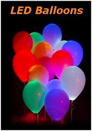 Sigma Glow Led Balloons (Pack Of 10)