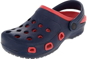 SIM STYLE Kids Daily Indoor And Outdoor Clogs - Blue