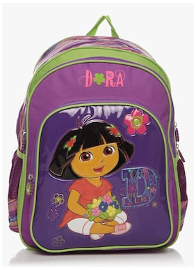 Simba 14 Inches Purple Children's Backpack (bts-2015)