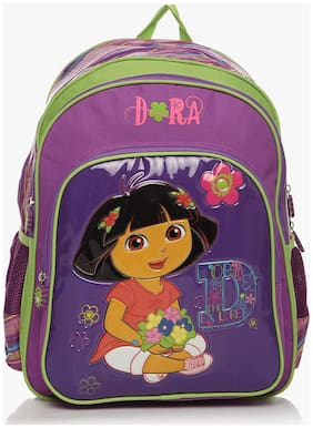 Simba 16 Inches Purple Children's Backpack (bts-2016)