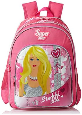 Simba 18 Inches Pink Children's Backpack (bts-2093)
