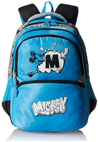 Simba 18 Inches Light Blue Children's Backpack (bts-2040)